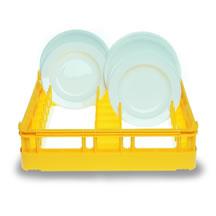 cesta abierta para lavavajillas profesionales